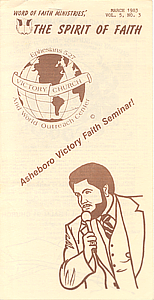 The Spirit of Faith Newsletter - March 1983 (Print Edition)