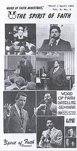 The Spirit of Faith Newsletter - March 1984 (Print Edition)