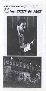 The Spirit of Faith Newsletter - April 1983 (Print Edition)