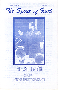 The Spirit of Faith Newsletter - May 1981 (Print Edition)