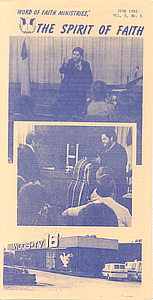 The Spirit of Faith Newsletter - June 1983 (Print Edition)