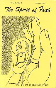 The Spirit of Faith Newsletter - August 1981 (Print Edition)
