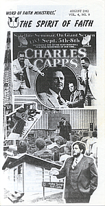 The Spirit of Faith Newsletter - August 1982 (Print Edition)