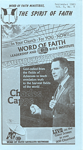 The Spirit of Faith Newsletter - September 1983 (Print Edition)