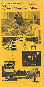 The Spirit of Faith Newsletter - October 1982 (Print Edition)
