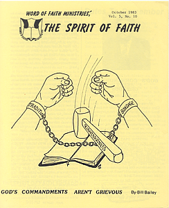 The Spirit of Faith Newsletter - October 1983 (Print Edition)