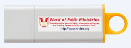 Word of Faith Ministries' USB Audio Message Offer!